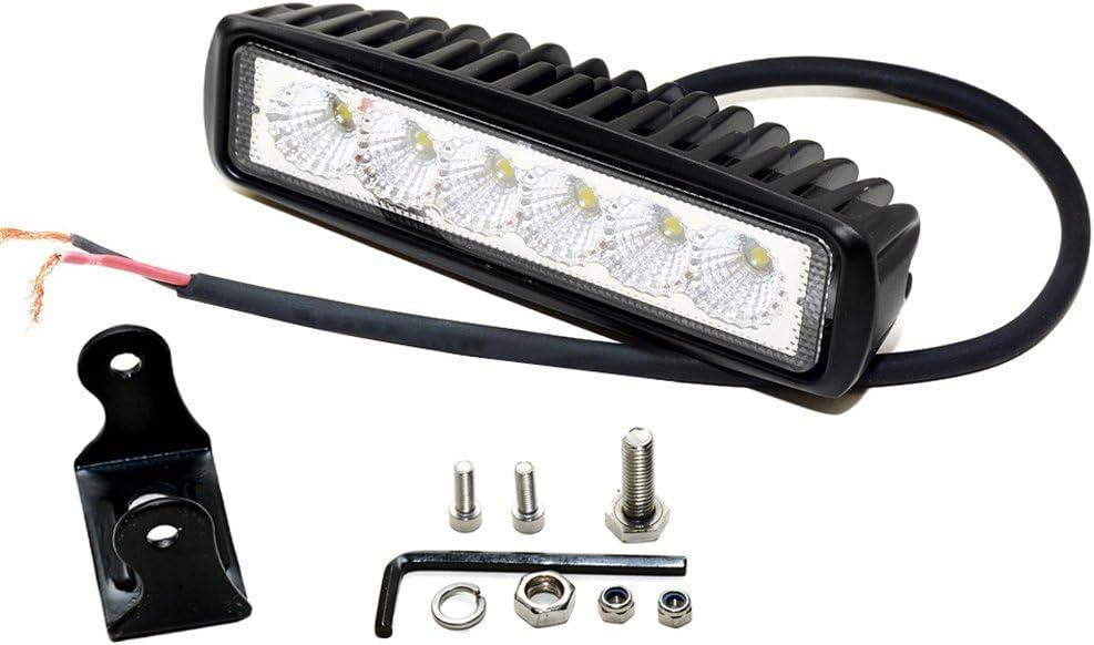 Leetop 120W LED Arbeitsscheinwerfer wei/ß 12V 24V Flutlicht Reflektor Work Light Bar Scheinwerfer Arbeitslicht Offroad Arbeitslampe f/ür Traktor
