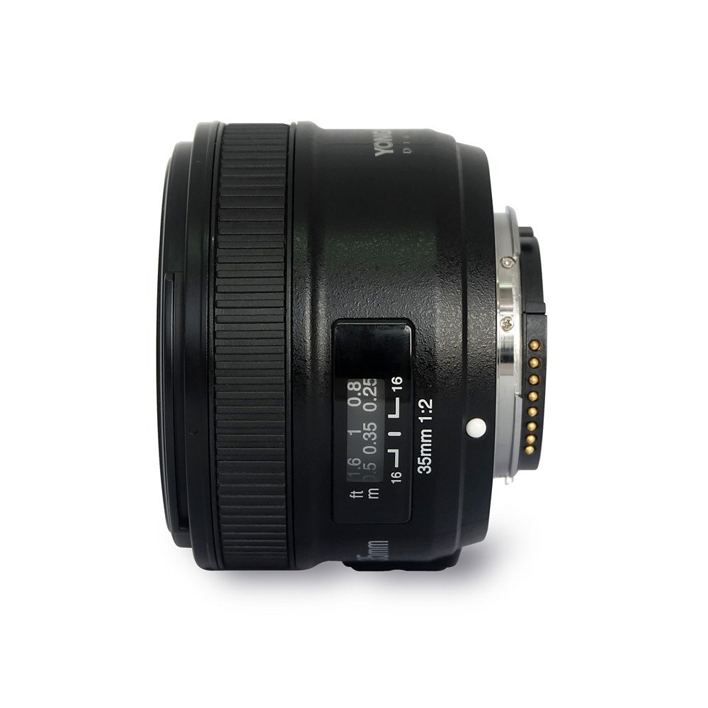 Yongnuo Yn35mm F2 Lens 12 Af Mf Wide Angle Fixed Prime Parts Diagram Where To Get For A Nikon D5000 Slr Auto Focus Dslr Cameras Camera Photo