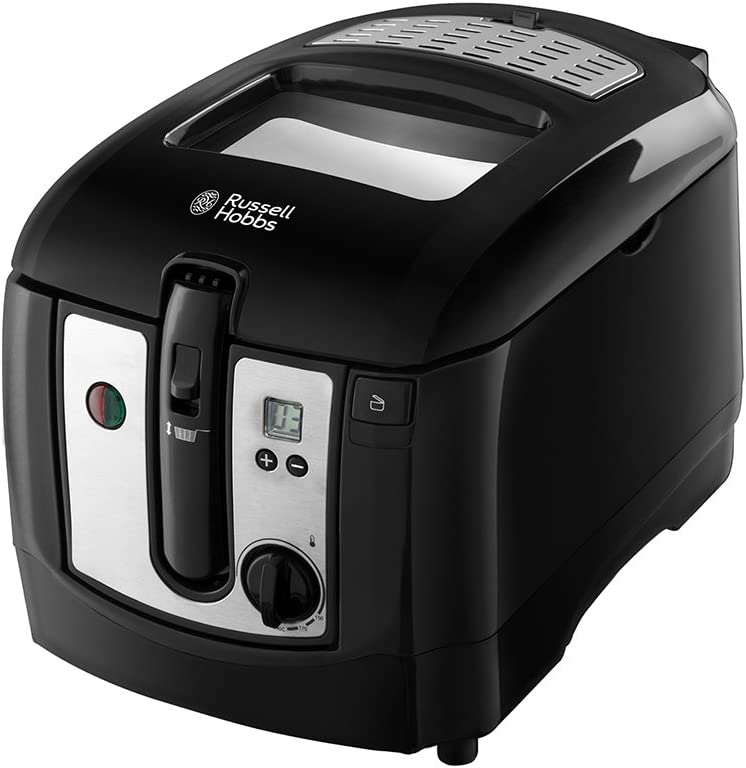 Russell Hobbs 24580 Digital Deep Fryer, Plastic, 2300 W, 3 Litres, Black