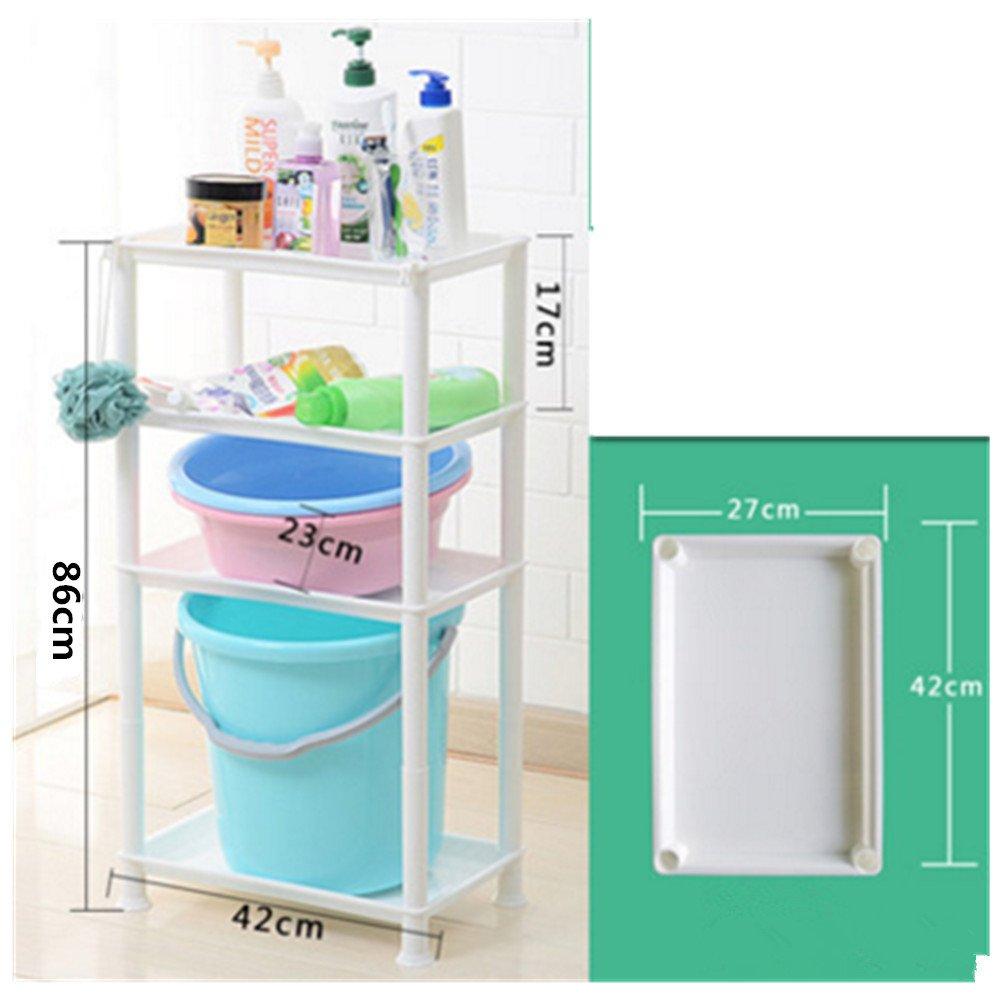 Amazon.com: Multifunctional shelving Kitchen /bathroom /toilet shelf ...