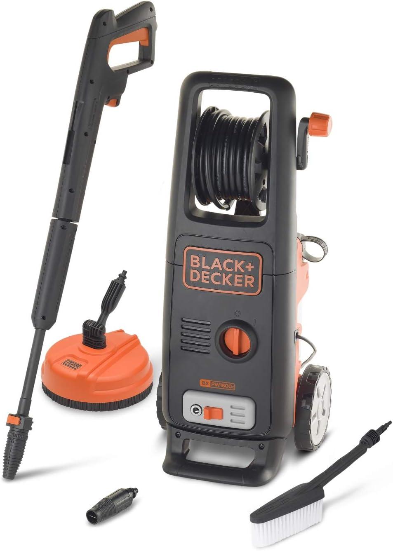 Black Decker Bxpw1800xe Hochdruckreiniger Mit Patio Cleaner Und Fester Bürste 1 800 W 135 Bar 440 L H Baumarkt