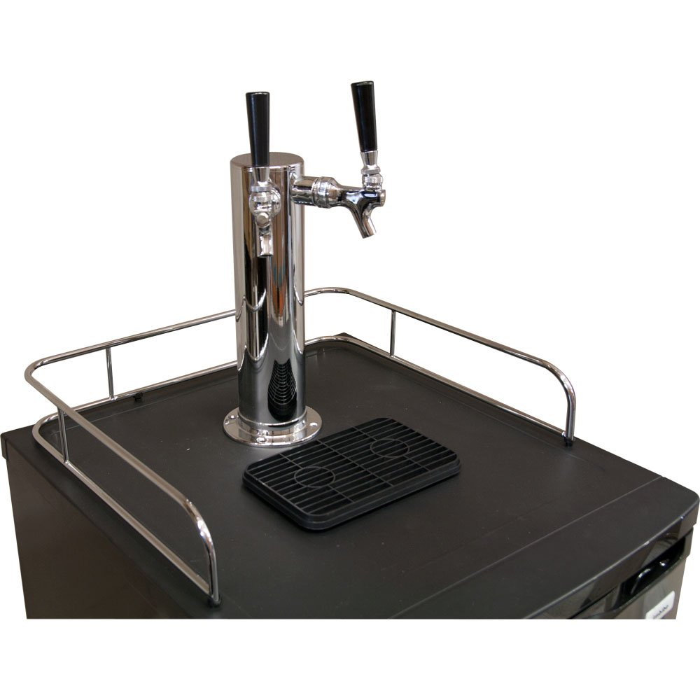 Amazon.com: Kegco K199SS-2 Kegerator Beer Dispenser - Double ...