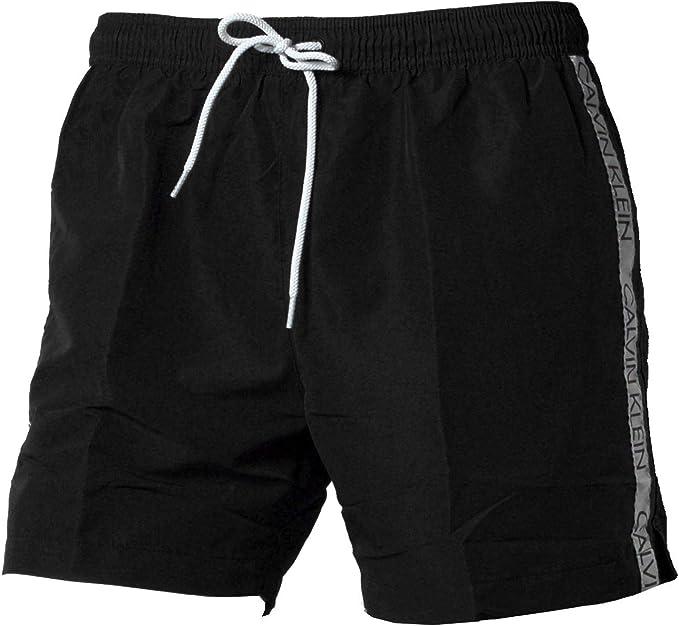 Calvin Klein Medium Drawstring Pantalones Cortos, Negro (Pvh Black Beh), X-Large (Pack de 2) para Hombre: Amazon.es: Ropa y accesorios