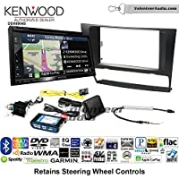 Volunteer Audio Kenwood Excelon DNX694S Double Din Radio Install Kit with GPS Navigation System Android Auto Apple CarPlay Fits 2006-2013 BMW 3 Series