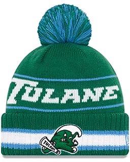 c39f41717c4f55 New Era Tulane Green Wave College Vintage Select Knit Pom Beanie - Green,