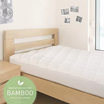 Amazon Com Eluxurysupply Back To School Mattress Pad With Fitted