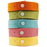 Yhmall Best Mosquito Repellent Bracelet 7 Pack- Natural Deet-Free Insect Bug Repellent Bands,Non-Toxic Safe For Kids,Indoor Outdoor Protection,Protection Up To 300 Hours