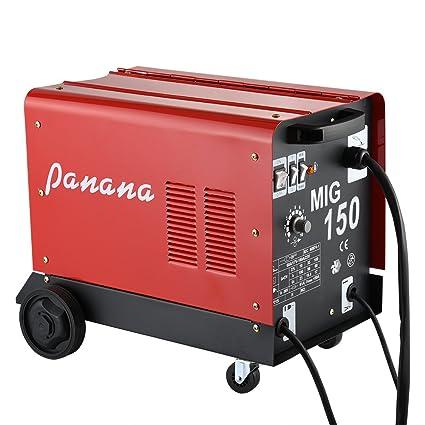 PJ Panana 150 máquina de soldadura de soldadura de gas y sin gas ...