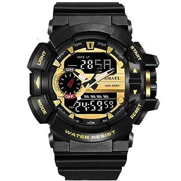 Amazon.com: sl1436 Casual Estilo de la moda reloj hombres s ...