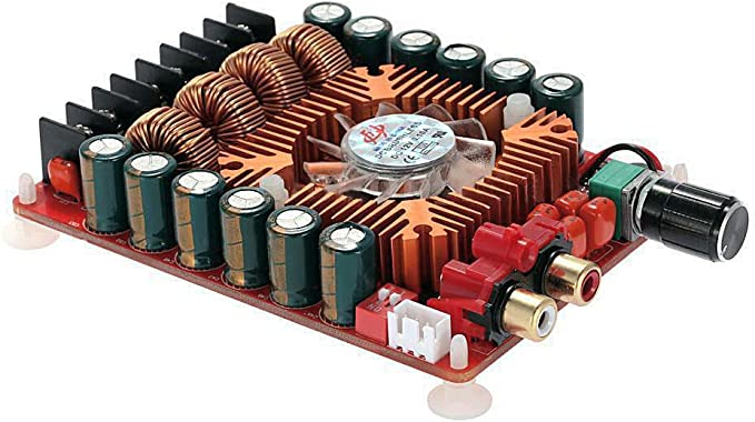 High-power TDA7498E 2x160W Dual Channel Subwoofer Digital Power Amplifier Board