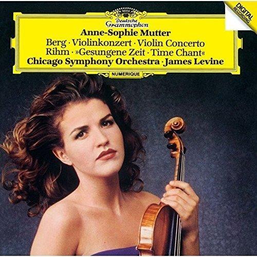 CD : Berg - Mutter, Anne-Sophie - Berg: Violin Concerto / Rihm (Super-High Material CD, Japan - Import)
