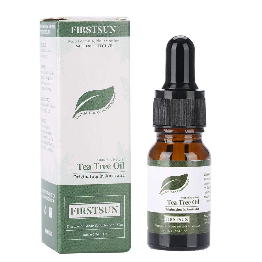 Tea Tree Essential Oil Antifungal Antibacterial Moisturizing Massage Balance Water Oil Shrink Pore Repair Skin for Men and Women Brrnoo