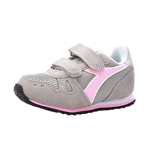 prezzi di sdoganamento comprare popolare ultimo di vendita caldo Diadora Simple Run TD, Scarpe da Ginnastica Bambina, Grey ...