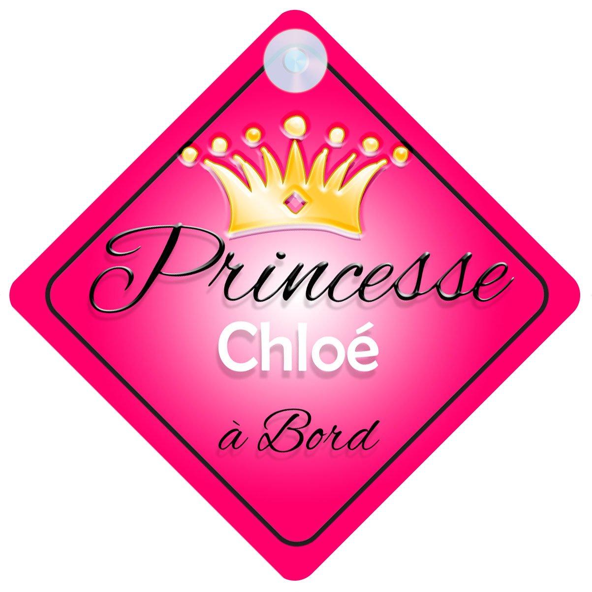 Princesse 001 Chloé Signe Pour Voiture Enfant/Bébé à Bord Quality Goods Ltd