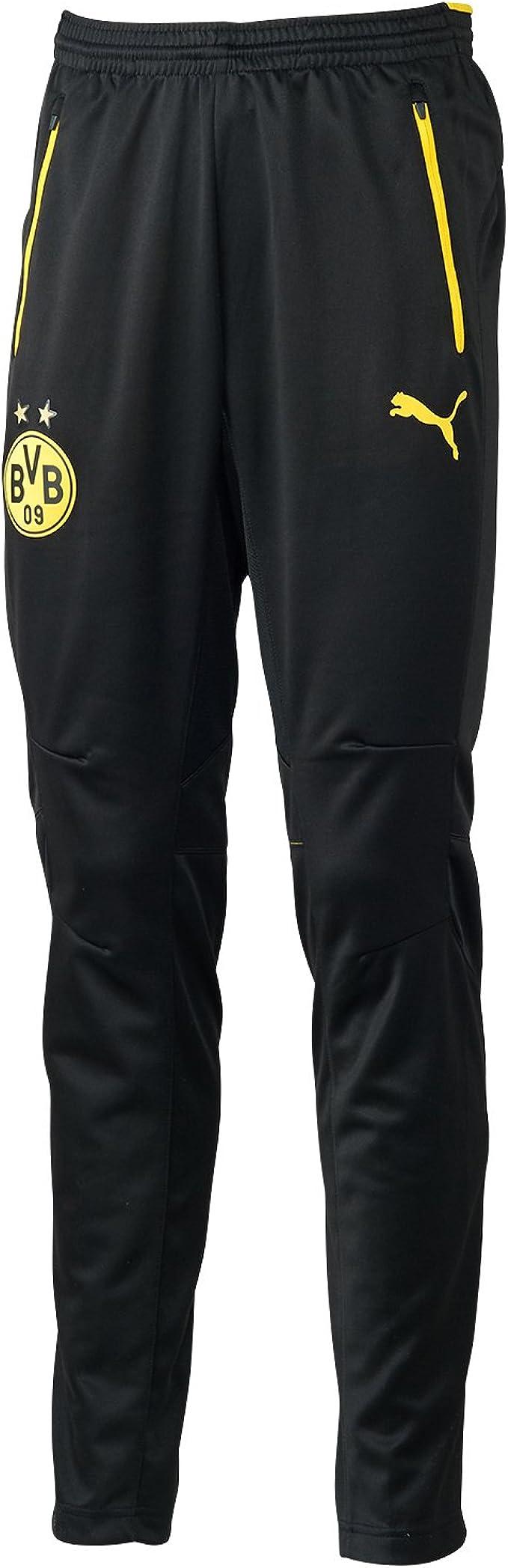 PUMA BVB Training Dortmund - Pantalones de fútbol para Hombre ...