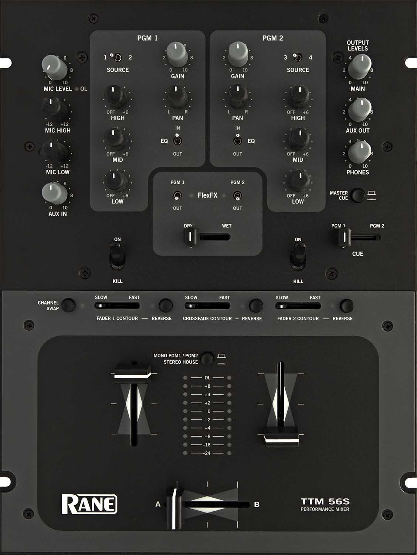 RANE TTM56S DJミキサー (レーン) B001R93EDI