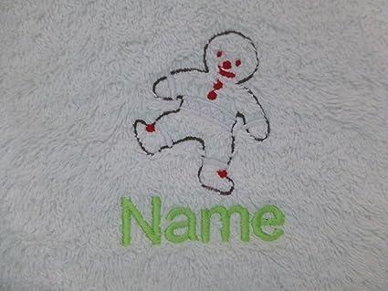 Albornoz con capucha para bebé de color blanco o blanco con capucha toalla con un hombre