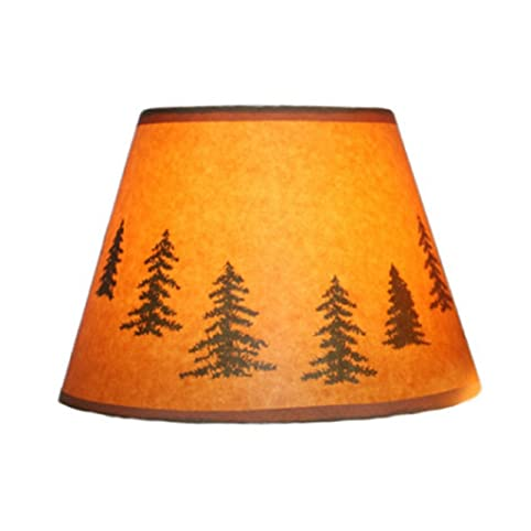 Catalina decorative stylish paper lamp shade with variation pine catalina decorative stylish paper lamp shade with variation pine themed ideal for home aloadofball