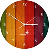 Hoopoe Decor Abstract color 1 Trendy Wall Clock