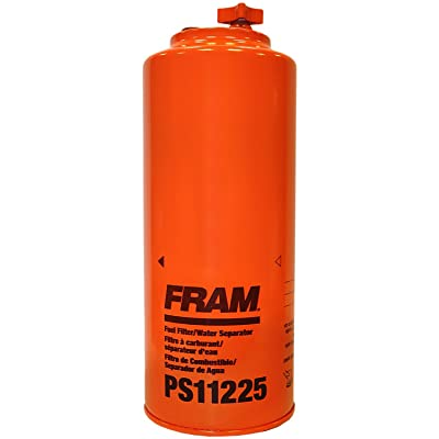 FRAM PS11225 HD Spin-On Fuel/Water Separator Filter with Drain and Sensor Port: Automotive