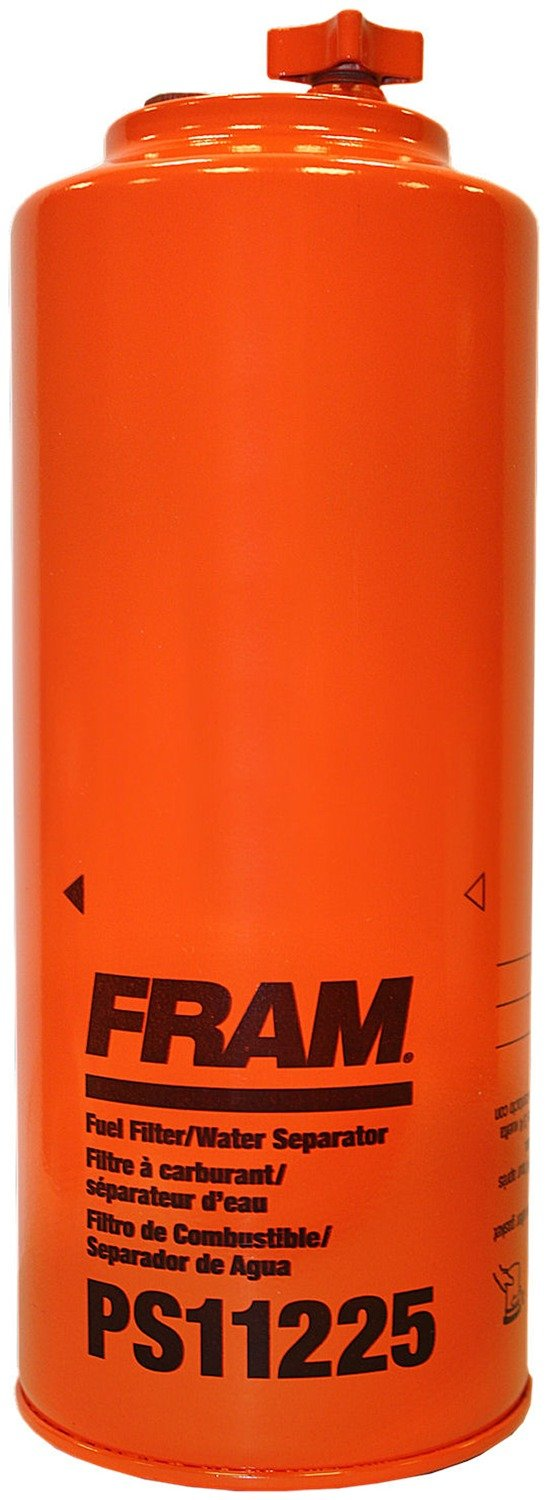 FRAM PS11225 HD Spin-On Fuel/Water Separator Filter with Drain and Sensor Port