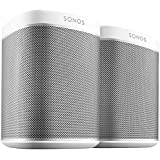 Sonos PLAY1 - Pack de 2 altavoces, color blanco