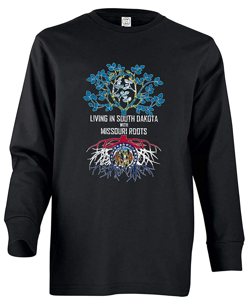 Tenacitee Babys Living in South Dakota with Missouri Roots Shirt