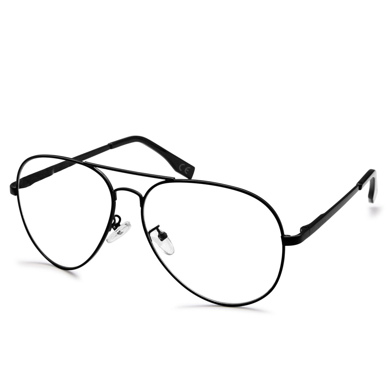 AMZTM Gafas de lectura al aire libre Clásico Moda Aviador Gafas De ...