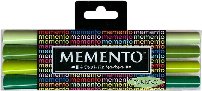 Memento Green Markers