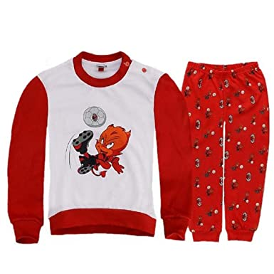 Pyjama bébé avec Milan Interlock Habillement officiel Supporters Baby    22547 - multicolore - 12 mois  Amazon.fr  Vêtements et accessoires 70f709ce063