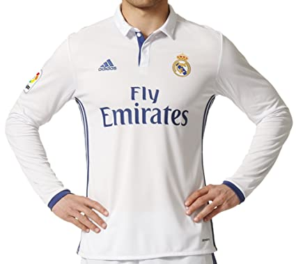 new style 3e6a7 51650 Adidas Real Madrid Mens Home Replica Soccer Jersey: Amazon ...