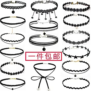 amazon generic neck collar necklace pendant fine jewelry German Food amazon generic neck collar necklace pendant fine jewelry korean version of the lace neckband creative places clavicle chain punk neck beauty