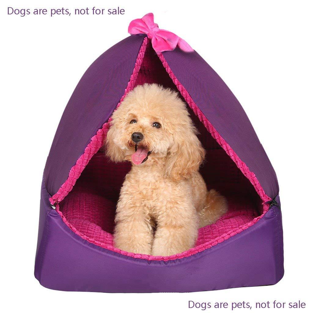 L KYCD Pet Litter Yurt, Washable Pet Supplies, Small Dog Seasons Mat, Pet House, Cat Litter, Summer, Pet Supplies (Size   L)