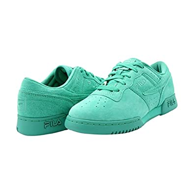 eee0bff82b59 Image Unavailable. Image not available for. Color  Fila - Original Fitness  Premium Sneakers (Big Kid) Green