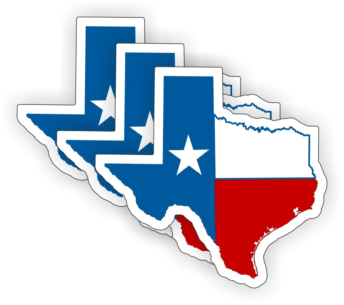 Decal Label Tool Lunch Box Motorcycle Helmet USA Stickers Texas Flag Hard Hat Sticker