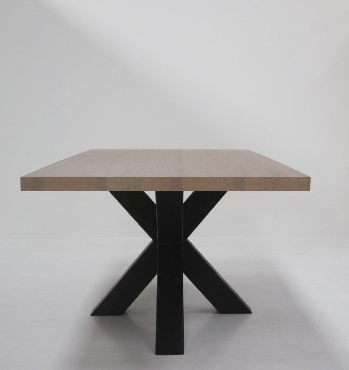 Wunderbar Esstisch Mit Mittelfuß Galerie Von Idea Metall Sterne Mittelfuß Celio, Tischplatte 50
