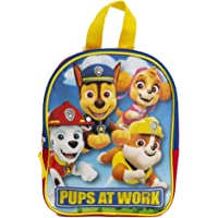 Paw Patrol Mini Backpack for Kids & Toddlers - 10 Inch, Red, Blue & Yellow