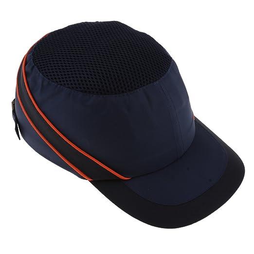 PETSOLA Azul Marino Béisbol Bump Caps Ligero Hard Hat Head ...