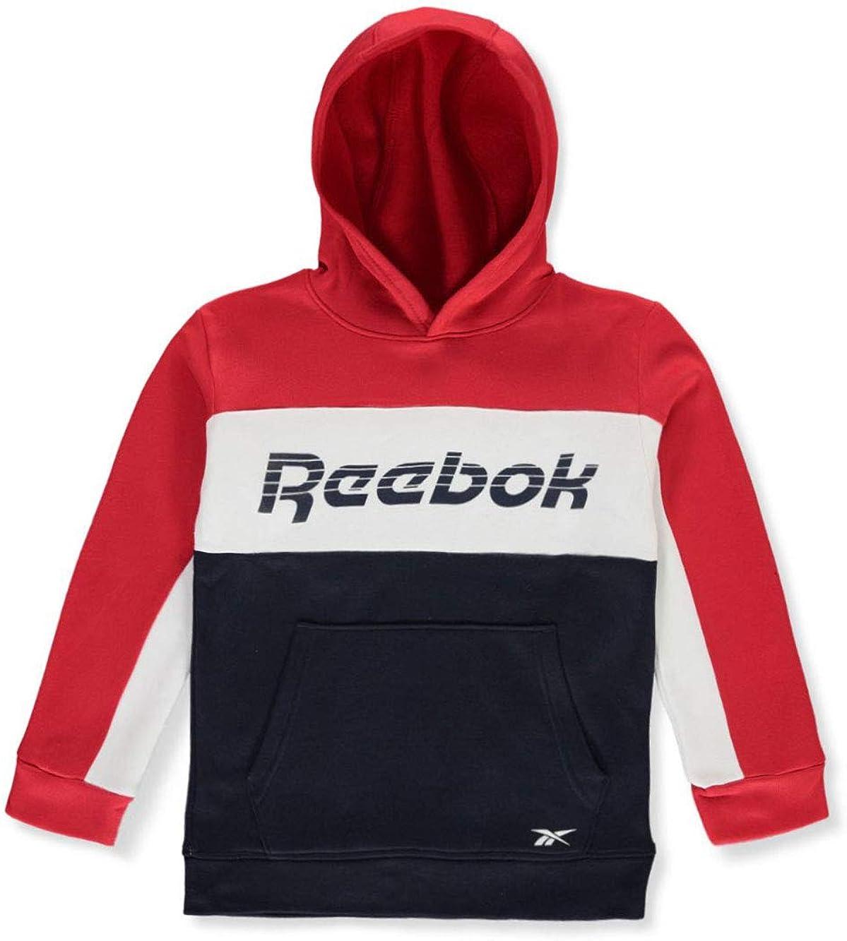 Reebok Boys Pieced Logo Hoodie
