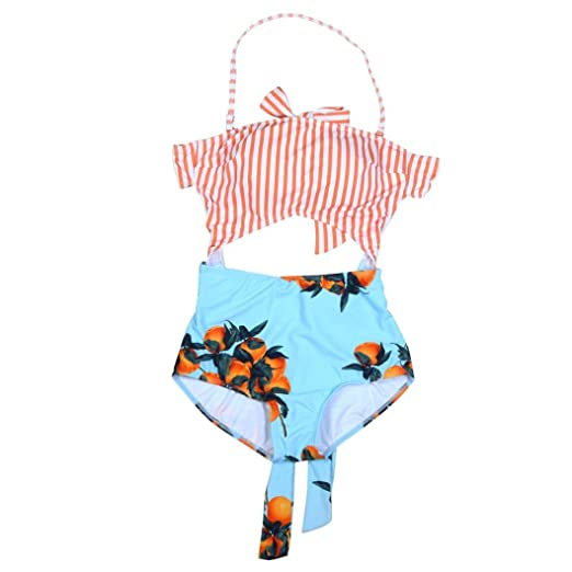 1fbdfdc369fe9 TRENDINAO Hot New Women Padded Printed Swim Jumpsuit One Piece Swimwear at  Amazon Women s Clothing store