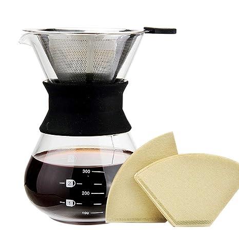 Amazon.com: Pour over Cafetera eléctrica por meehome – Pour ...