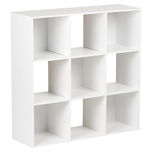 Hartleys White 3 Tier Storage Unit   9 Cubes