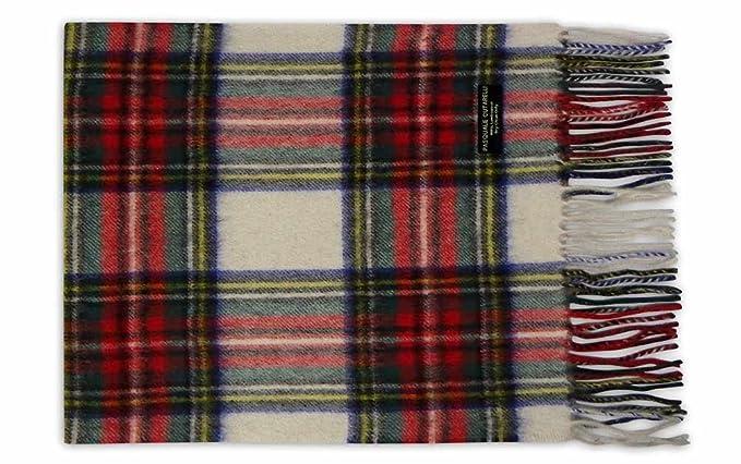 794a40cd30a9 Pasquale Cutarelli Coffret-cadeau Echarpe en Laine Tartan Dress Stewart  (DRESTEW-W)