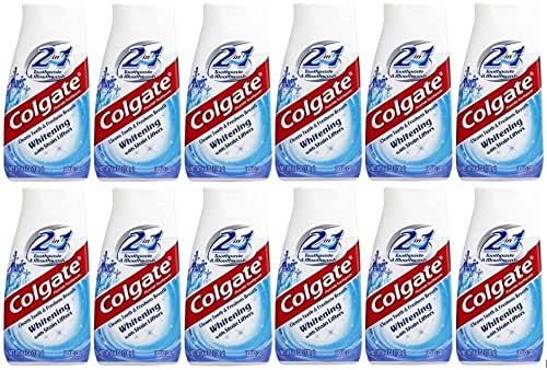 Toothpaste: Colgate Whitening with Stain Lifters