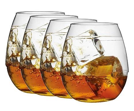 Copas de Vino, 100% Tritan-plástico Irrompible Copas Vino Cristal, 55 Cl