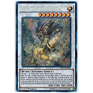 Yu-Gi-Oh! - Baxia, Brightness of the Yang Zing (MP15-EN096) - Mega Pack 2015 - 1st Edition - Secret Rare