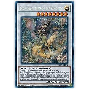 Yu-Gi-Oh! - Baxia, Brightness of the Yang Zing (MP15-EN096) - Mega Pack 2015 - 1st Edition - Secret Rare