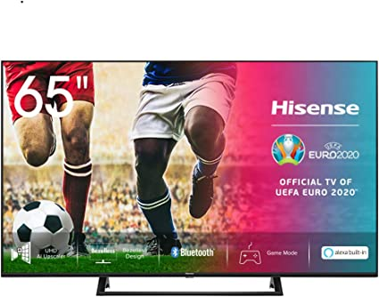 Hisense UHD TV 2020 65AE7200F - Smart TV Resolución 4K con Alexa integrada, Precision Colour, escalado UHD con IA, Ultra Dimming, audio DTS Virtual-X, Vidaa U 4.0: Amazon.es: Electrónica
