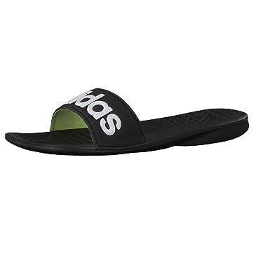 1810774242b7 adidas Women s Flip Flops Multi-coloured Negro Blanco Lima  Amazon ...