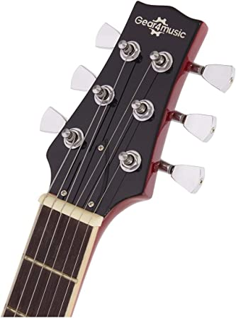 Guitarra Semiacustica San Francisco de Gear4music Red Wine: Amazon ...